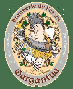 Etiquette de la bière Gargantua