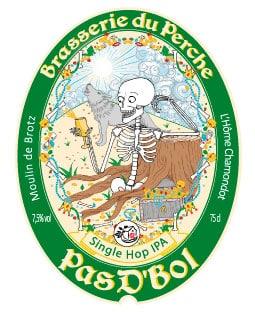 Etiquette de la bière Pad'bol