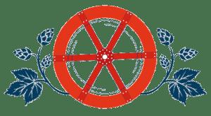 Illustration roue rouge du Moulin de Brotz