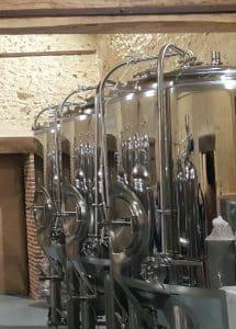 Cuves de la Brasserie du Perche