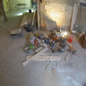 2021, travaux taproom